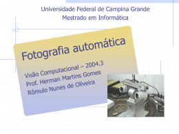 Apresentação - Prof. Rômulo Nunes