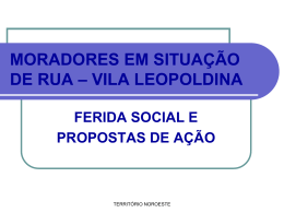 Vila Leopoldina - Pastoral Fé e Política