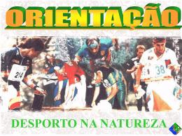 Apresentacao_Orientacao - Federação Portuguesa de Orientação