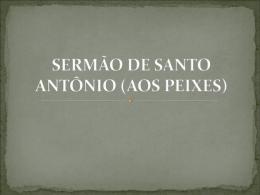 SERMÃO DE SANTO ANTÔNIO (AOS PEIXES)