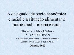 urbana e rural