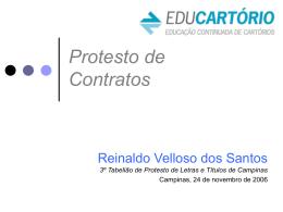 Protesto de Contratos - www.educartorio.com.br