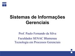 Slide 1 - Departamento de Sistemas e Computação