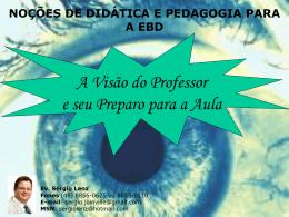 Treinamento Professores EBD 2011