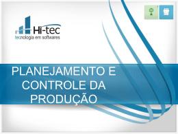 planejamento_e_controle_da_producao - Hi-Tec