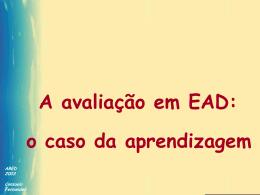 Avaliação em EAD