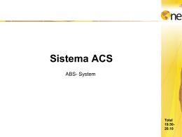 O Sistema ACS