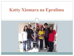 Katty Xiomara na Epralima - N Escolas