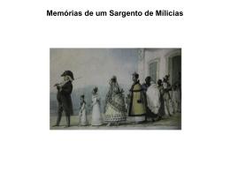 Memórias de um sargento de Mílicias Manuel A. de Almeida