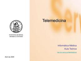 PPT - Curso de Informática Médica