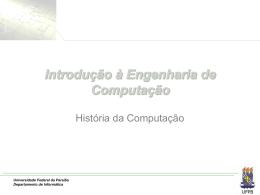 Introdução à Engenharia da Computação