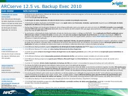 ARCserve 12.5 vs. Backup Exec 2010