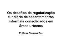 Edésio Fernandes.