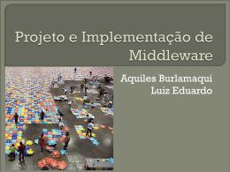 Middleware - Aquiles Burlamaqui