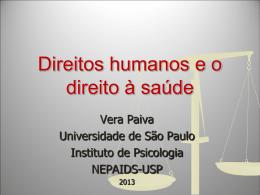 Apresentação da professora Vera Silva Paiva