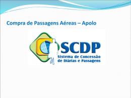 Passo-a-passo Compra Passagem Aérea Apolo