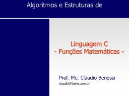 abs - Prof. Ms. Claudio Benossi