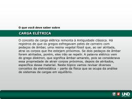 IV. Campo elétrico