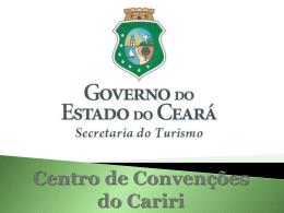 Centro de Convenções do Cariri Apresentação