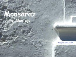 Monsaraz no Alentejo - Teia da Língua Portuguesa
