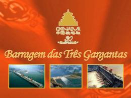 Mackenzie - Barragem das Três Gargantas