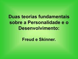 Três teorias fundamentais sobre a personalidade: Freud, Moreno e
