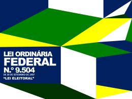 Lei Eleitoral - Procuradoria-Geral do Estado do Paraná