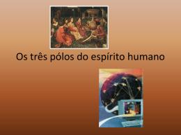 Os três pólos do espírito humano