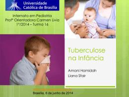 Tuberculose na infância - Paulo Roberto Margotto