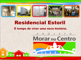 Morar no Cetro – Residencial Estoril