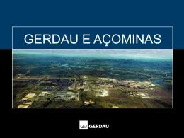 Gerdau em Minas Gerais