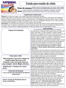 6ComolevarasalvacaoparasuacasaAt1631