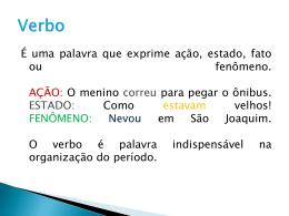 verbo - Colégio Salesiano Recife