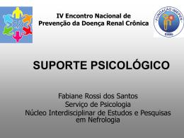 SUPORTE PSICOLÓGICO