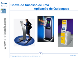 Dicas - Elo Touch Solutions