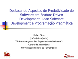 TAES3_aspectos_produtividade_FDD_LSD_PP