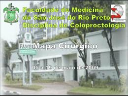 Mapa Cirurgico II - Clínica Dr. Netinho