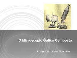 Microscópio - Ajuda alunos