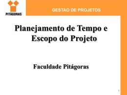 gestao de projetos