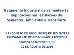 Tratamento Industrial de Sementes