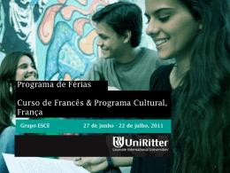 Slide 1 - UniRitter
