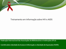 HIV/AIDS Information Training
