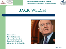 Jack Welch - MGerhardt Consultorias