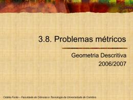 6_Problemas metricos - Universidade de Coimbra