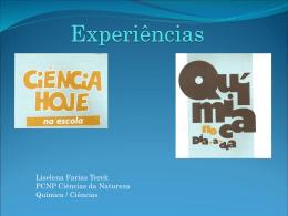 Ciências experiências2