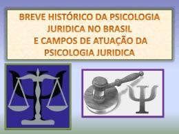 Psicologia Jurídica - Aula 01 Slide