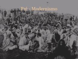 Pré - Modernismo - Colégio Santos Anjos