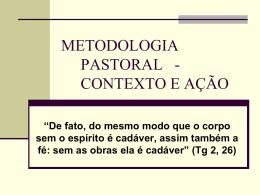METODOLOGIA PASTORAL