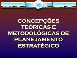 Concepções Metodológicas PES - aula 5
