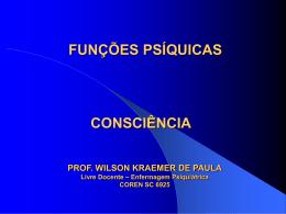 CONSCIÊNCIA - Wilson Kraemer de Paula